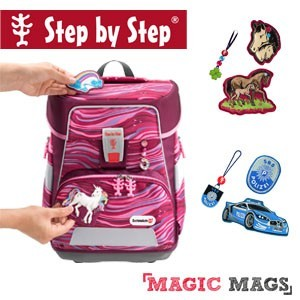 Step by Step Space mit Wunsch Magic Mags