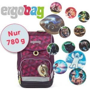 ergobag cubo LIGHT mit Wunschkletties