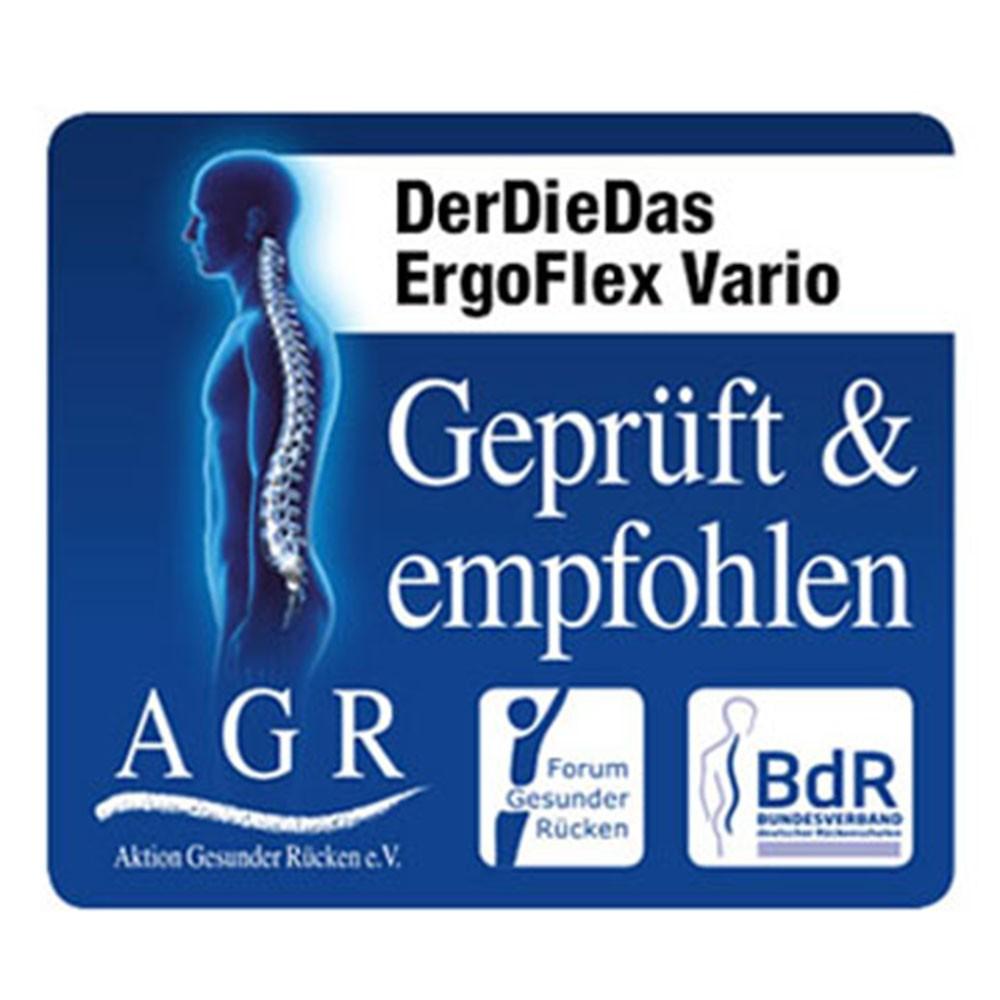 DerDieDas ErgoFlex Vario AGR-Gütesiegel