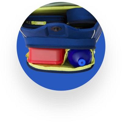 Ergobag Cubo praktische Features