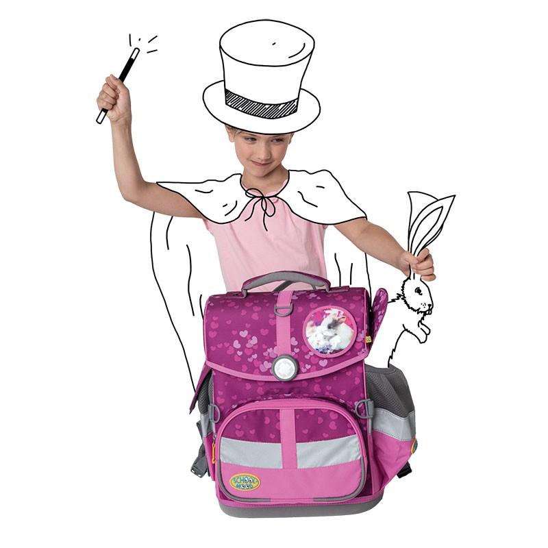 School Mood Timeless praktische Seitentaschen