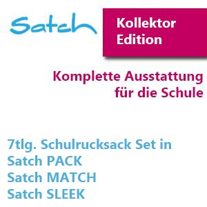 7-teilige Satch Sets
