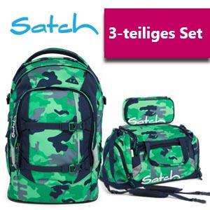 Satch Schulrucksack 3er Set