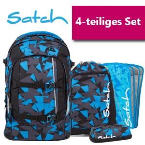 Satch Schulrucksack 4er Set