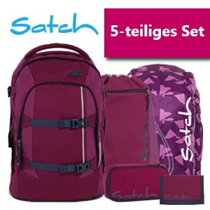 Satch Schulrucksack 5er Set