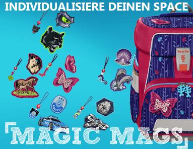 Gestalte Deinen Step by Step Space mit Magic Mags Deiner Wahl