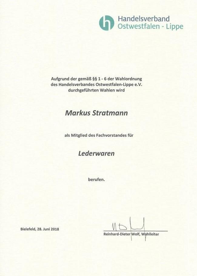 Neues Von Der Ranzenfee Markus Stratmann Vom Handelsverband Owl