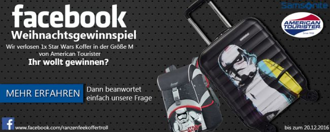 Star Wars American Tourister