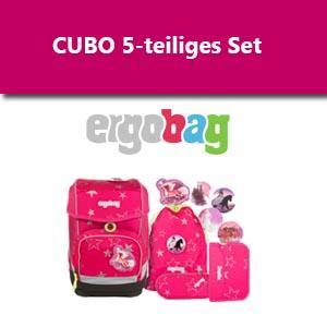 Ergobag Cubo als 5-teiliges Set