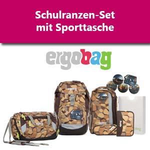 Ergobag Set mit Sporttasche